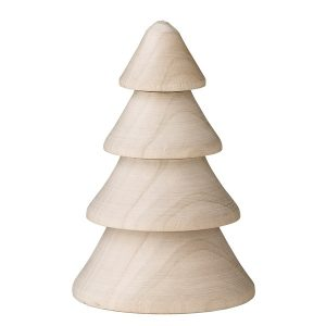 dekorationsgran i trä