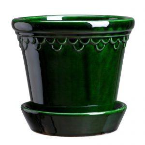 terrakottakruka Köpenhamn grön Bergs Potter