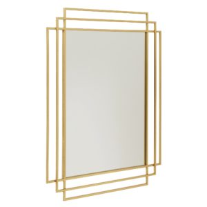 Spegel SQUARE guld