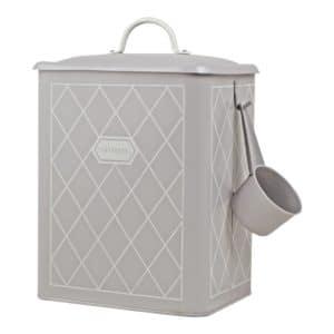 tvättmedelsburk grå