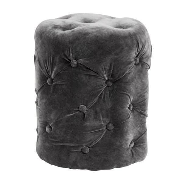 sittpuff grå
