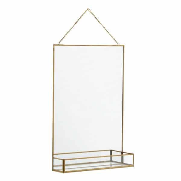 spegel med hylla