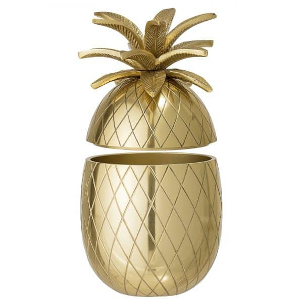 ishink ananas guld Bloomingville