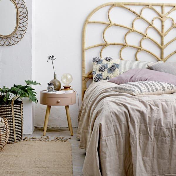 sängbord rosa