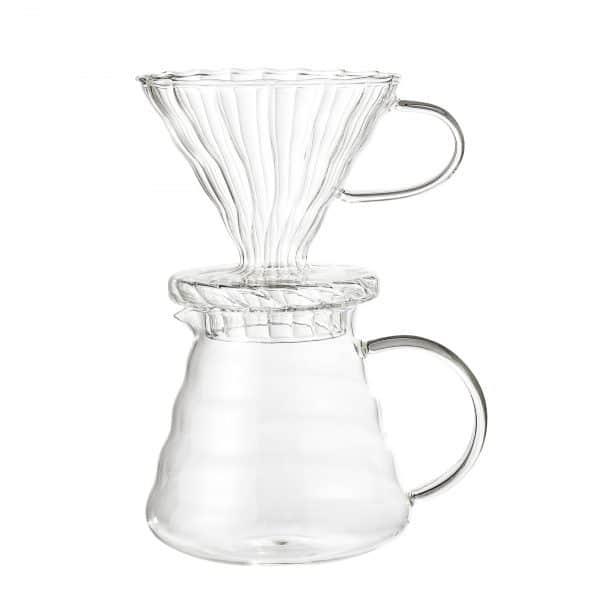 Kaffebryggare glas