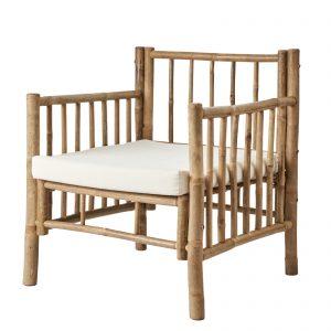 loungefåtölj trädgårdsmöbel bambu Affari