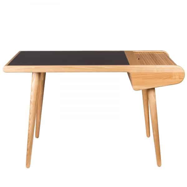 skrivbord ask svart Zuiver