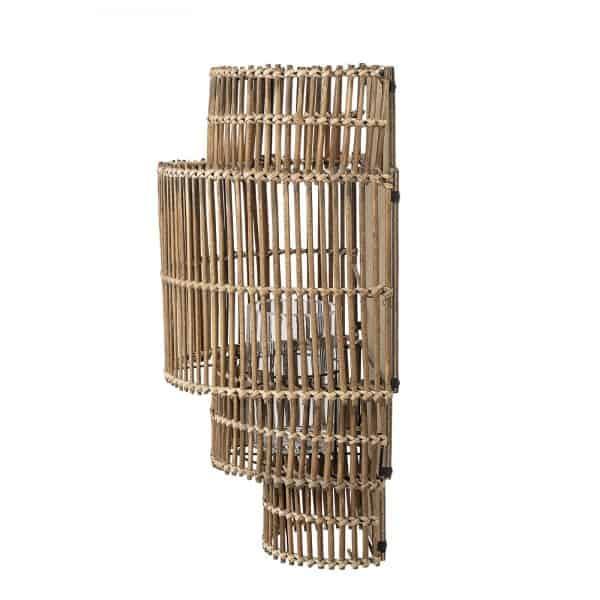 vägglykta bambu Bloomingville