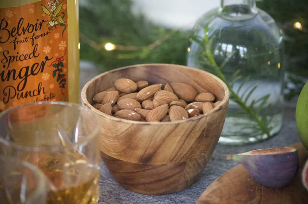 glöggmingel sötmandel julnötter träskål Madam Stoltz