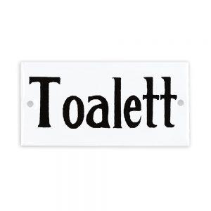 emaljskylt Toalett Strömshaga