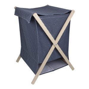 tvättkorg blå Strömshaga
