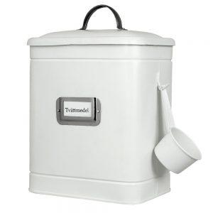 vit tvättmedelsburk Strömshaga