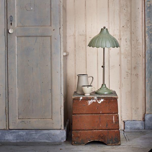 Annie bordslampa grön Strömshaga