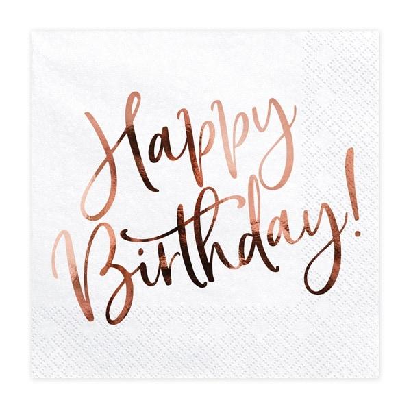 servetter Happy Birthday