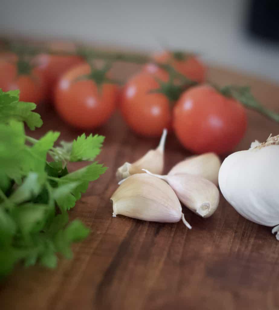 ingredienser till Shakshuka