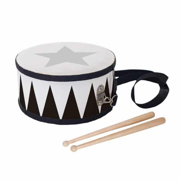 trumma svart barninstrument Jabadabado