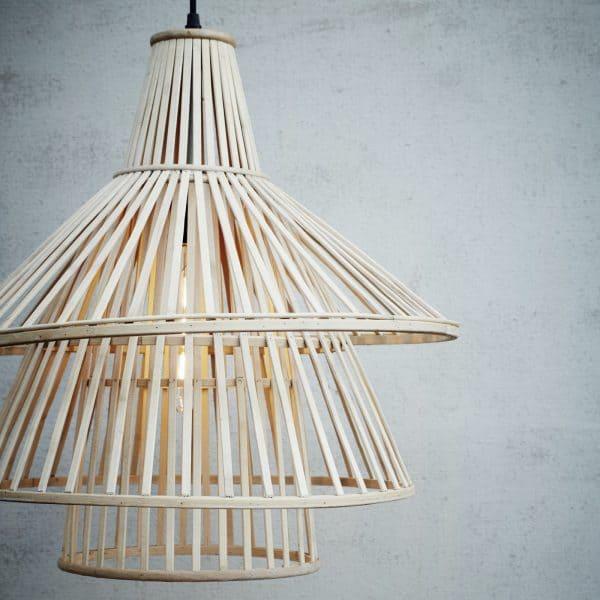 taklampa bambu Madam Stoltz