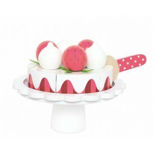 leksaksmat jordgubbstårta Jabadabado