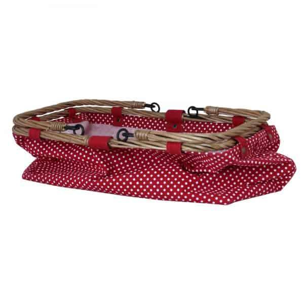väska Prick röd Strömshaga