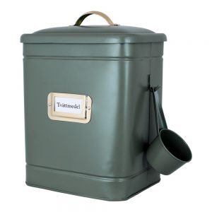 tvättmedelsburk Hilma grön Strömshaga