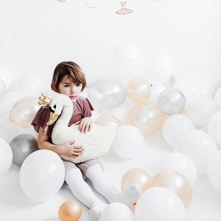 kudde Lovely Swan Partydeco