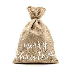 jutesäck jul merry Christmas Partydeco
