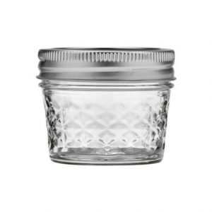 Ball Mason Jar glasburk crystal