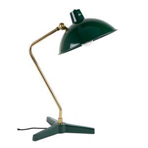 skrivbordslampa Devi grön Dutchbone