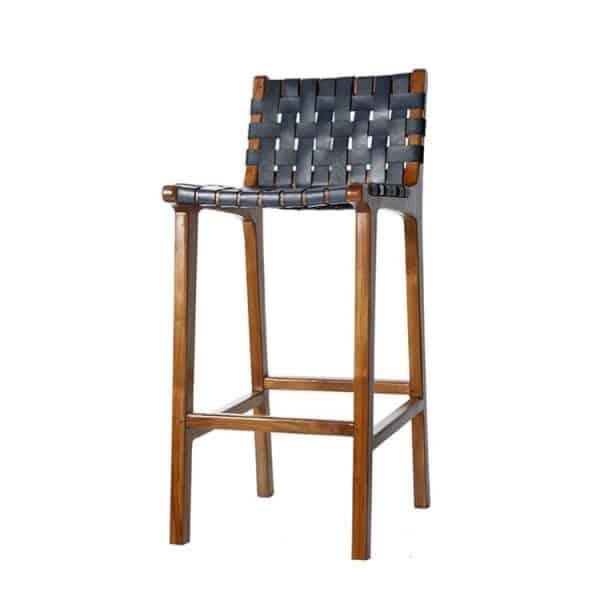 barstol Porto svart möbler Wikholm form