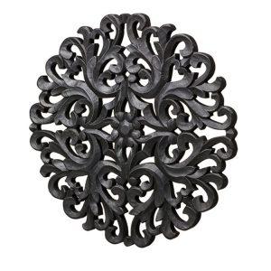 väggdekor Mandala svart Wikholm form