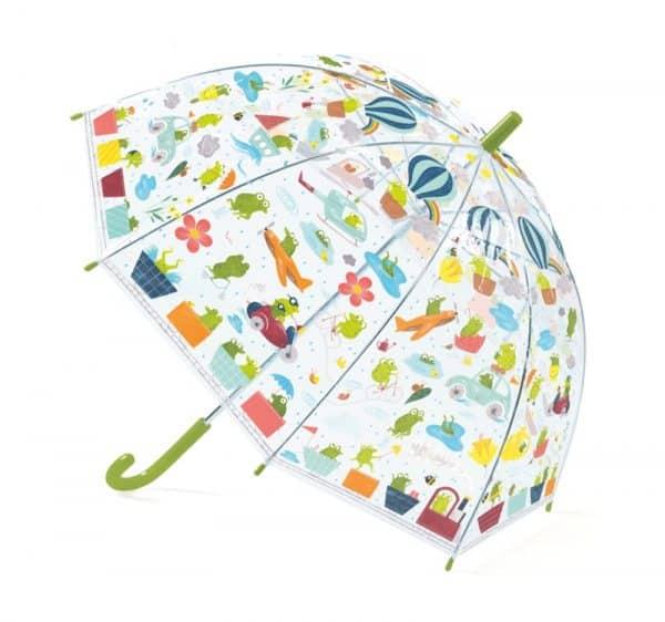 paraply för barn FROGLETS Djeco
