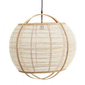 taklampa bambu linne Madam Stoltz