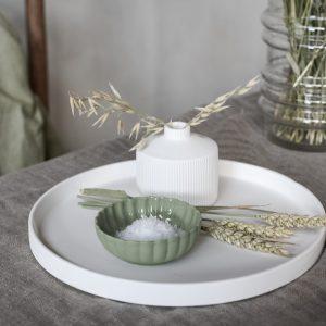 miniskål Flora grön Storefactory
