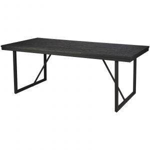 matbord Kyoto svart teak Wikholm form