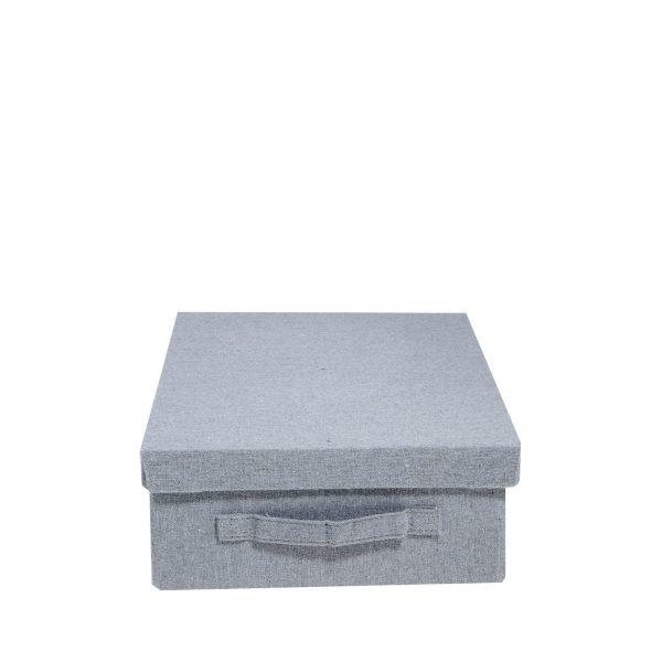 förvaringsbox Norrbo grå Storefactory