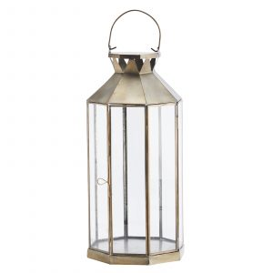 lanterna antik mässing Madam Stoltz