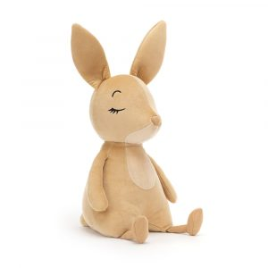 mjukdjur sovande kanin Jellycat
